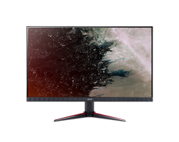 "NEW! Monitor Acer Nitro VG220Qbmiix, IPS LED, 55cm (21.5"") W, Format: 16:9, Resolution: Full HD 1920x1080@75 Hz,  ZeroFrame Design; FreeSync 1ms Visual Response Boost (VRB), Brightness: 250 cd/m2, Viewing Angle: 178°/178°, VGA 2xHDMI, MM Speakers 2Wx2; MM"