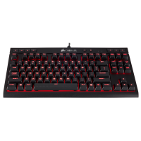 Клавиатура Corsair Gaming™ K63 Compact Mechanical Keyboard, Backlit Red LED, Cherry MX Red (NA)