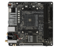 ASROCK Main Board Desktop AM4 B450 (SAM4,2xDDR4,2xPCI 3.0x16,SATA III,1xUlraM.2,USB3.0,GLANHDMI,DP) Mini ITX Retail