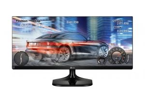 "Монитор LG 25UM58, 25"" IPS, UW-FHD (2560x1080) 75Hz, 21:9, 5ms, 250cd/m2, 1000:1, Dynamic Action Sync, 2xHDMI, Black Glossy"